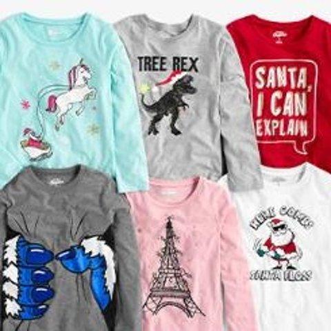 低至4.8折Carters 官网 儿童T恤$7、legging$7起,仔裤$10