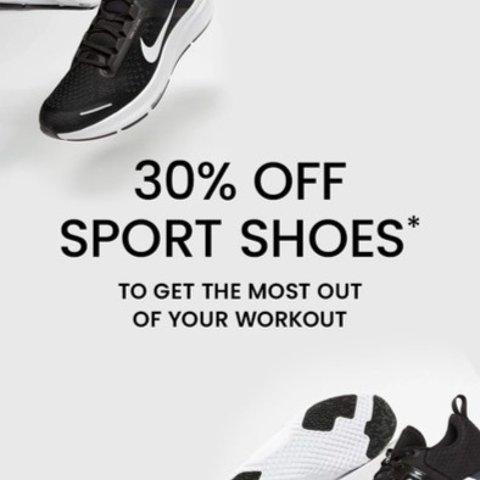 一律7折 新品TR-10仅$77The iconic 品牌运动鞋限时促 Nike、Adidas Puma等都参加