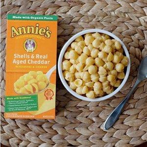 $1.68(原价$2.49)Annie's Homegrown 儿童奶酪有机通心粉170克