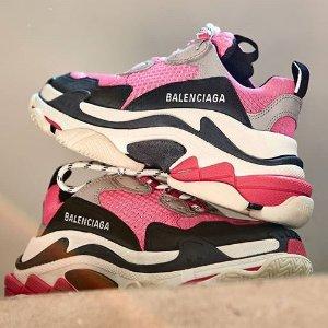 满额享9折 断码快上新:Balenciaga 专场 收老爹鞋、机车包