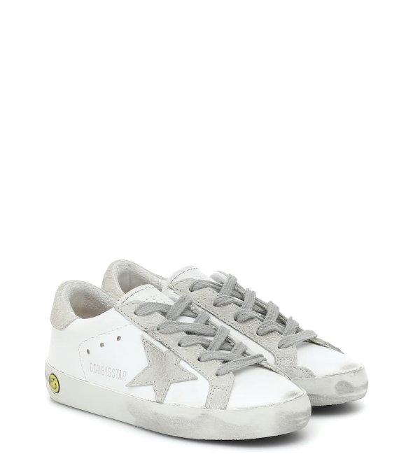 Superstar 白色小脏鞋