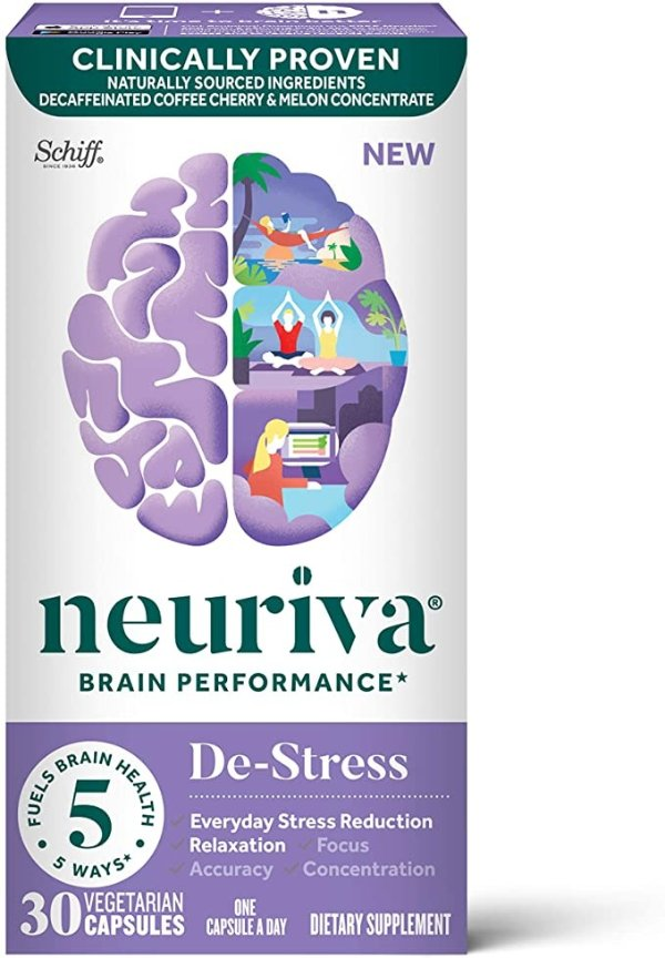 NEURIVA 补脑胶囊 舒缓压力款 30粒