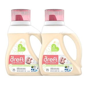 额外立减$2 $15.09起史低价:Dreft 宝宝低过敏性洗衣液特卖