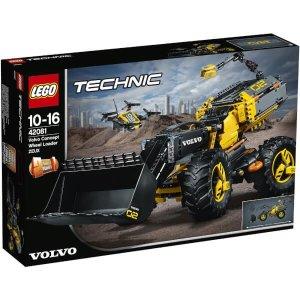 Lego折扣码VOLVO科技系列 42081 概念轮式装载机