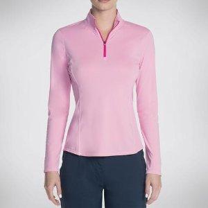 $14.99Skechers Women's GOGOLF UPF L/S Pullover Shirt