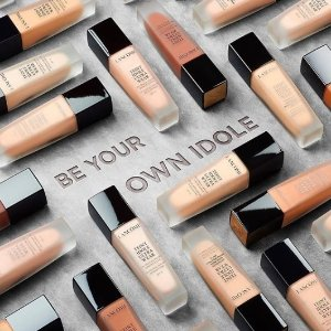 Last Day: 15% off + Choose your 7 piece sample giftwith Foundation Products @ Lancôme