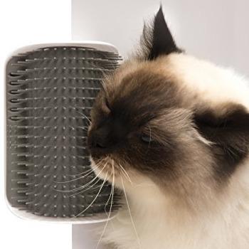 Catit 猫咪墙角按摩梳毛器
