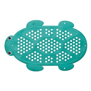 Infantino® 2-in-1 Turtle Bath Mat and Storage Basket in Green - buybuy BABY
