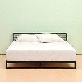 $65 销量冠军Zinus 6英寸超舒适绿茶记忆海绵床垫 Twin