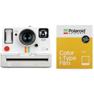 PolaroidOneStep+ i-Type 一次成像相机/ Colour i-Type Film 8pk - White