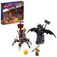 Lego The Movie 2 准备战斗的蝙蝠侠和MetalBeard 70836