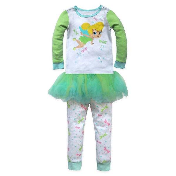 Tinker Bell 女童睡衣套装