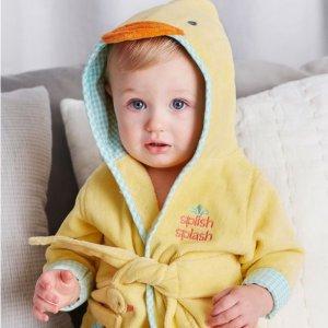 低至6折 封面款Little Me浴袍$21.6Lord & Taylor 婴儿服饰特惠, CK, adidas, Ralph Lauren, Little Me 等都有