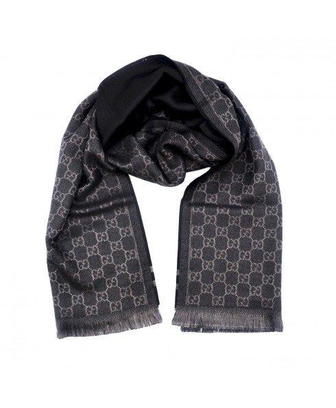 GG围巾80%羊毛+20%丝绸