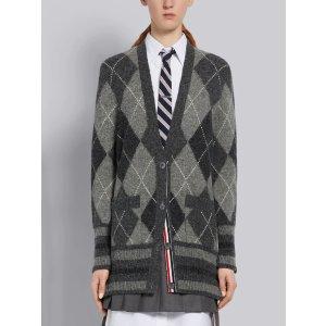 Thom Browne38-42纯羊毛长款开衫