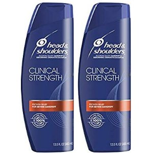 Head and Shoulders Clinical Strength Shampoo, 2-Pack