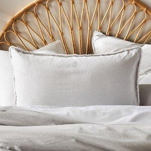 Bamboo Linen Silver 枕套