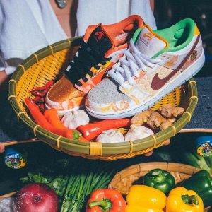 "定价$145 1月30日发售预告:Nike SB Dunk Low ""Street Hawker"" 食神配色 周董已上脚"