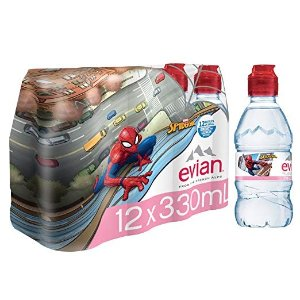 64b8d28691 EvianNatural Spring Water Spider-Man Edition 330ml 11.2 oz. 12 Count, Water  Bottles. $15.20 $20.00. Evian Natural ...