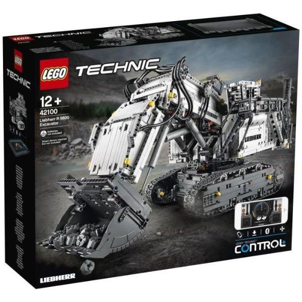 ® Technic 42100 利勃海尔R 9800挖掘机