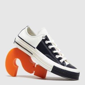 Converse拼色帆布鞋