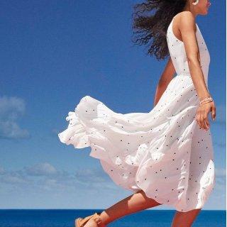 低至4折 全场裤装一律$20折扣升级:Loft 官网 精选美衣再降价 $20收小黑裙