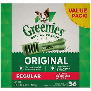 $30 Off $100+Greenies Dental Dog Treats on Sale