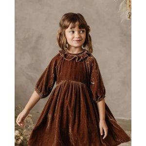 Wine Velvet Dress - NORA - CLEARANCE