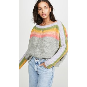 Free PeopleSee The Rainbow Sweater