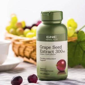 低至3.5折 $11.99起GNC Herbal Plus 天然保健品系列,收葡萄籽、银杏叶精华