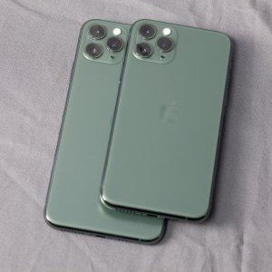 买大买小? 看过真机再决定绿色双子星, iPhone 11 Pro/ Pro Max 午夜绿版 美图大赏