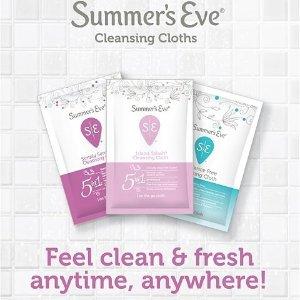 $2.98收16片独立包装Summer's Eve Emma推荐品牌 女性清洁湿巾 随时清爽干净