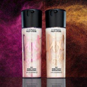 低至7.5折最后一天:MAC Cosmetics 定妆系列热卖 收网红流沙定妆喷雾