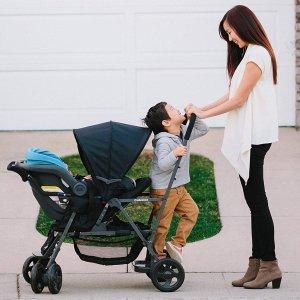 $179.99(原价$249.99)史低价:Joovy 8148 Caboose 双人婴儿推车, 三色可选