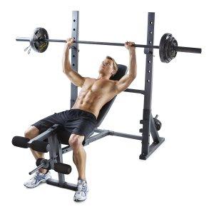$109 (原价$138.98)Gold's Gym XR 10.1 多功能家用健身凳