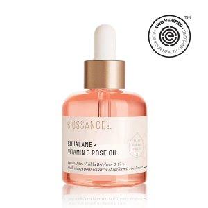 BIOSSANCESqualane + Vitamin C Rose Oil