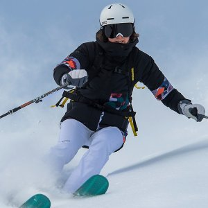 Marmot女士保暖冲锋衣 滑雪服