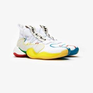 AdidasCrazy BYW LVL X PW 男士运动鞋