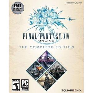 $44.99 (原价$59.99)《最终幻想14 完整版》Win / Mac 数字版, 包含全部 DLC