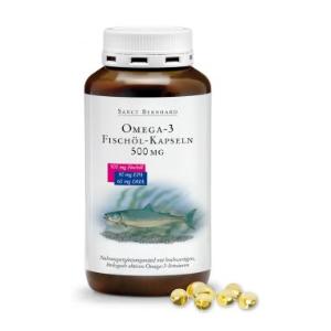 买就送Sanct Bernhard明星产品一份Sanct Bernhard Omega-3鱼油胶囊仅€9.5,3罐起仅€8.9 血管清道夫