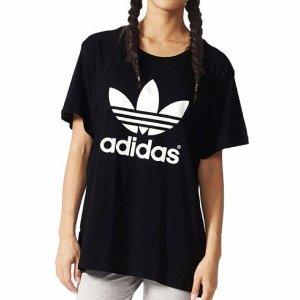 $29 男女款都有手慢无:Adidas Originals 经典黑色潮TEE热卖