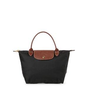 Longchamp黑色饺子包