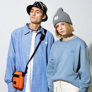 €120收笑脸毛线帽Acne Studios 2020秋冬新款热卖 速收笑脸卫衣、logo围巾
