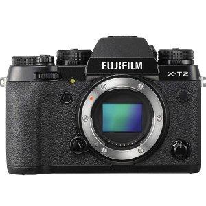 $1050(原价$1349)Fujifilm 富士X-T2 无反相机 仅机身 富士第一款4K摄录相机
