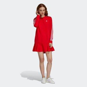 Adidas满€100立享额外9折,满€150立享额外8.5折大幂幂同款连衣裙