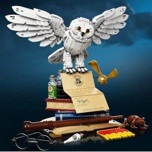 $249.99 独家礼品升级新品上市:LEGO 哈利波特 霍格沃茨经典藏品 76391,20周年巨作