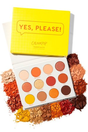 Yes, Please! Pressed Powder Eyeshadow Palette | ColourPop
