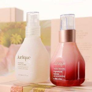 7折+免税Jurlique 精选护肤品热卖 收限量超值玫瑰喷雾