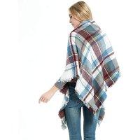 YSense 格纹围巾