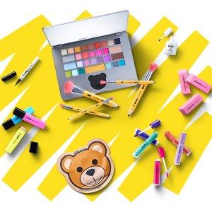 5折+送Hourglass散粉Sephora x Moschino 合作系列特惠 收铅笔刷具套装
